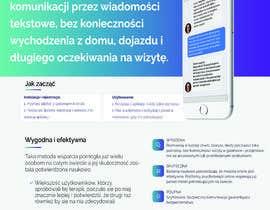 Nro 8 kilpailuun Przekształć materiały reklamowe - ulotki - w rollup käyttäjältä noureoudaden