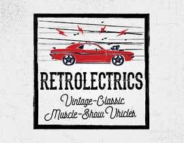 #94 untuk Retro auto electrician logo design oleh redeesstudio