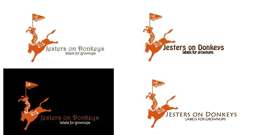 "#69 for This should be fun: ""Jesters on Donkeys"" looking for company logo design by vspriya"