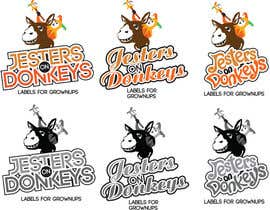 "labebe tarafından This should be fun: ""Jesters on Donkeys"" looking for company logo design için no 54"