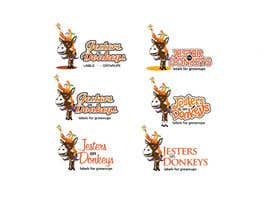 "#76 untuk This should be fun: ""Jesters on Donkeys"" looking for company logo design oleh labebe"