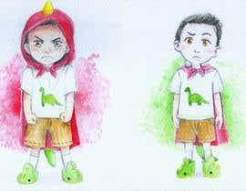 Nro 32 kilpailuun Draw a cartoon boy with 4 facial expressions käyttäjältä eno91