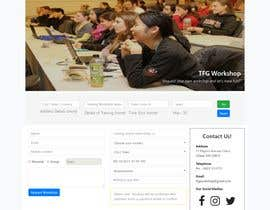 Nro 4 kilpailuun Simple website to register a course request and to create a database käyttäjältä buddyy21