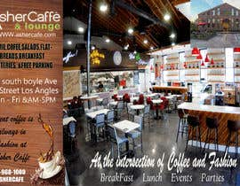 #19 for Design an Adverstisement for Coffee Shop / Fabric Store by sairafcheema