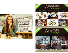 #26 for Design an Adverstisement for Coffee Shop / Fabric Store by erickaeunicewebb