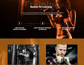 Nro 4 kilpailuun Mockup for redesign of www.Onestrike-us.com käyttäjältä robertoanguloto