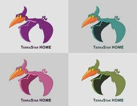 #49 for Company Logo - Cartoon Character (Mascot) - Pterodactyl (Flying Dinosaur) by atanasovskigorgi