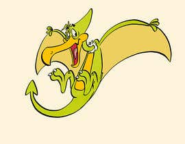 #61 for Company Logo - Cartoon Character (Mascot) - Pterodactyl (Flying Dinosaur) by Cornman