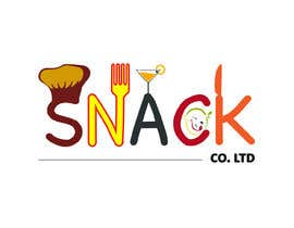 #81 for Design a Restaurant Company Logo - Snack Co. Ltd. by Tasnubapipasha