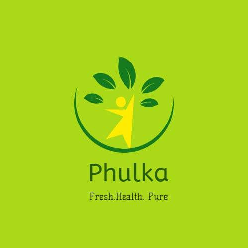Kilpailutyö #10 kilpailussa Modern Logo design for Company selling Roti (Indian Dailily Bread). Name is Phulka (Tag line Fresh.Healthy.Pure)