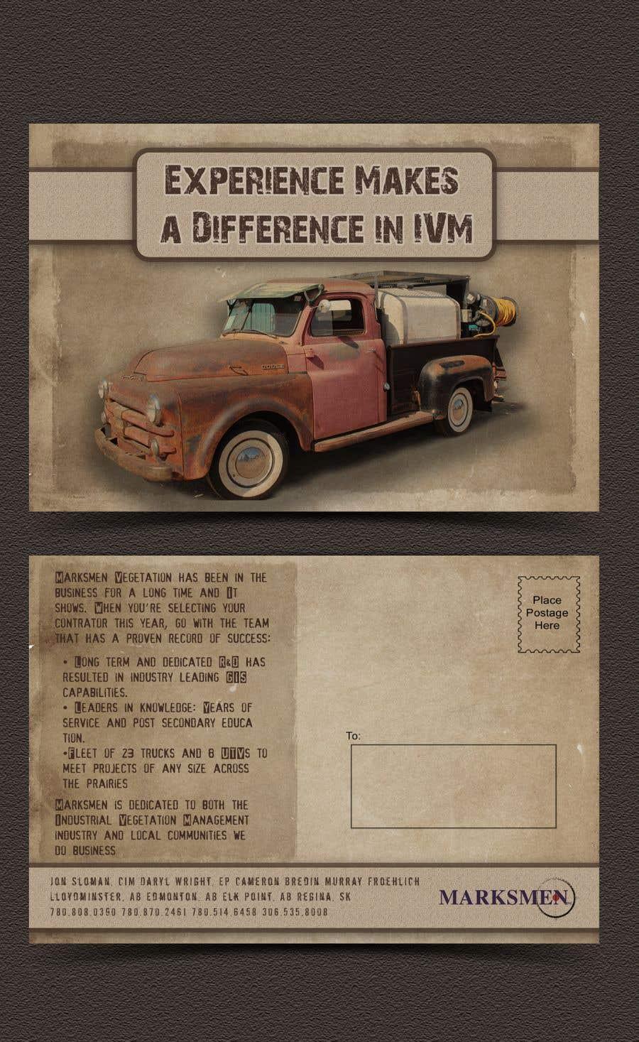 Penyertaan Peraduan #18 untuk Design a Postcard size Advertisement