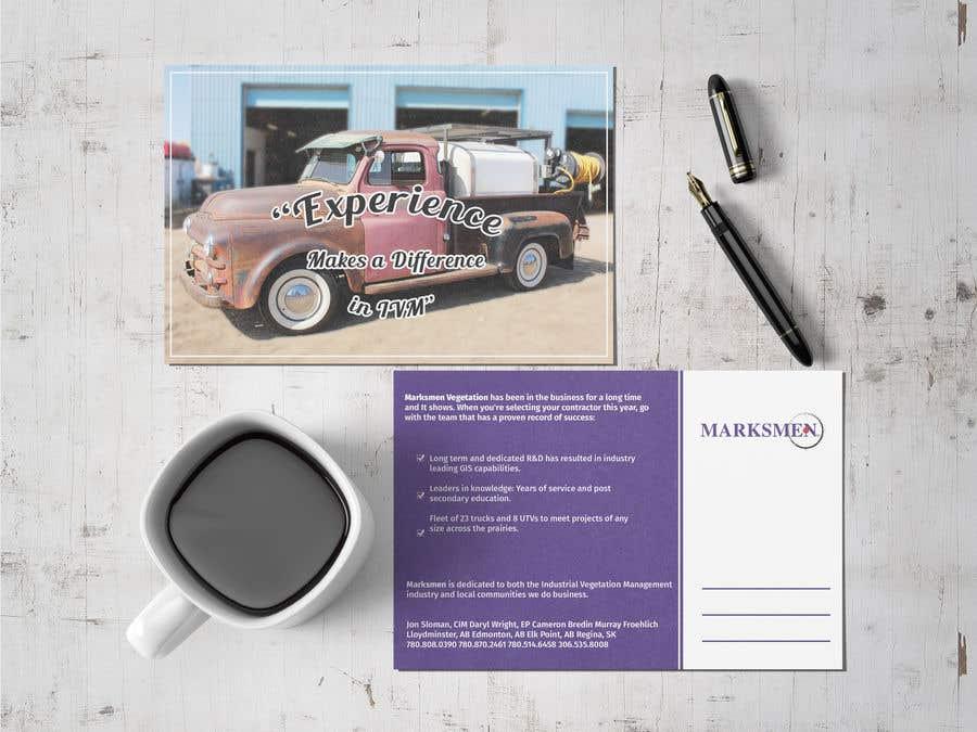 Penyertaan Peraduan #10 untuk Design a Postcard size Advertisement