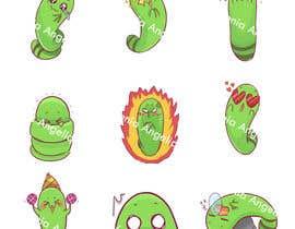 #31 untuk Stickers pack design oleh vangelique