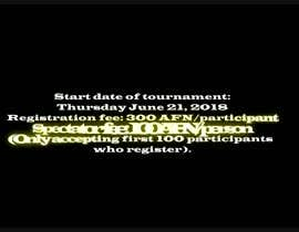 #2 for FIFA18 PS4 Tournament: Video Advertisement by Abdullah6959