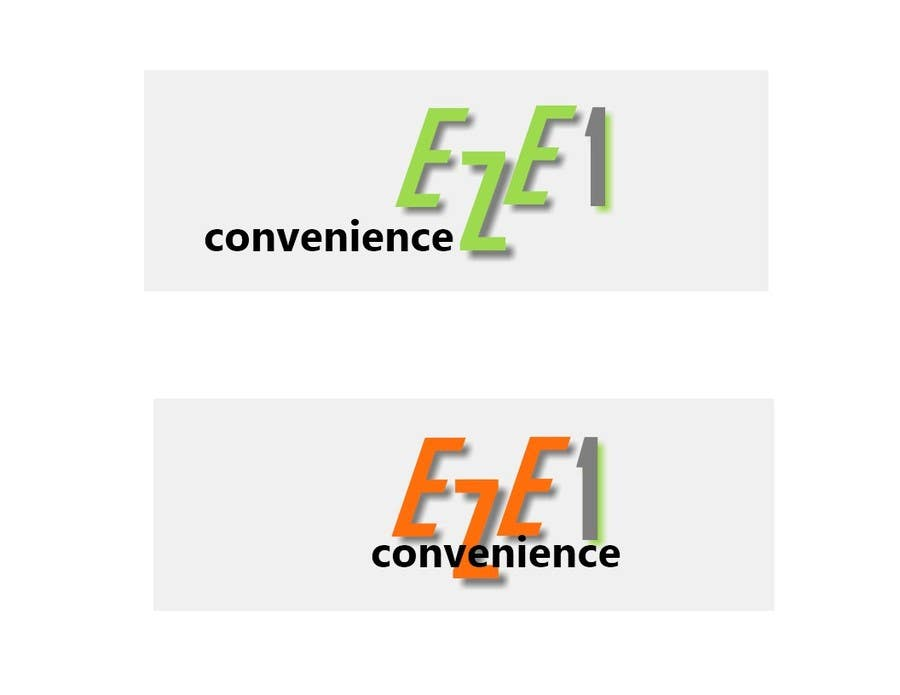 #234 for Logo Design for EZE1 (EZE1 Convenience) by tklessin