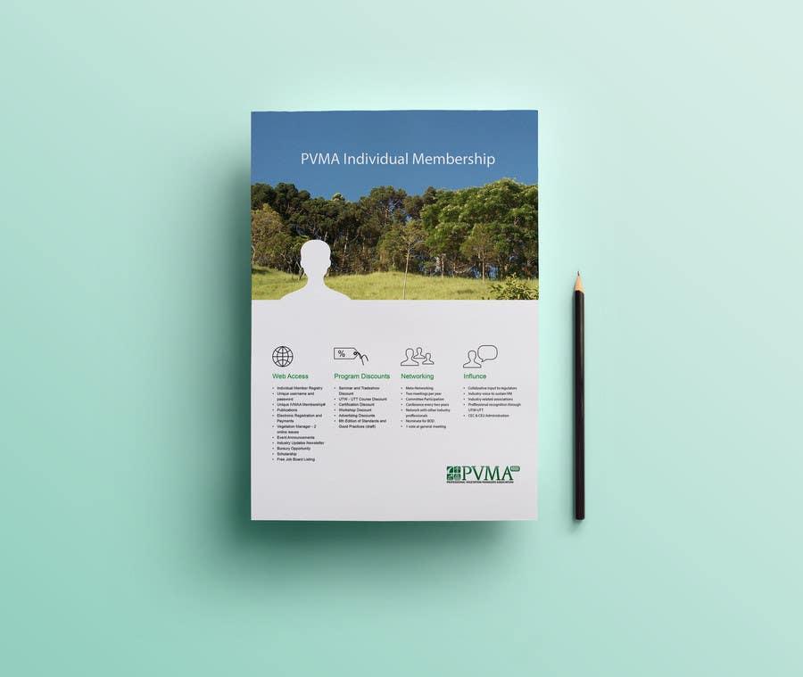 Inscrição nº                                         3                                      do Concurso para                                         Design a Brochure for PVMA