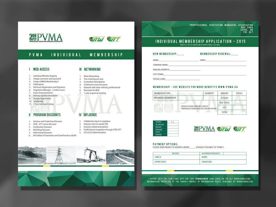 Inscrição nº                                         18                                      do Concurso para                                         Design a Brochure for PVMA