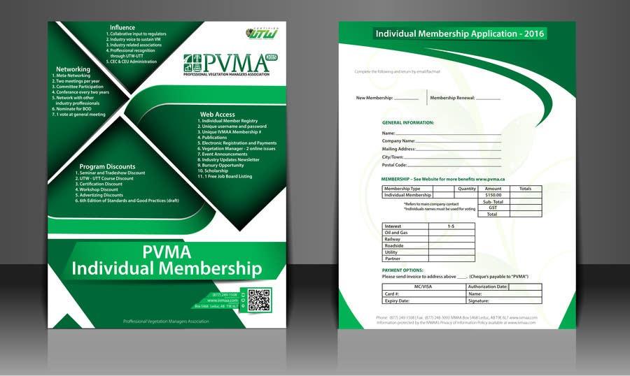 Inscrição nº                                         13                                      do Concurso para                                         Design a Brochure for PVMA
