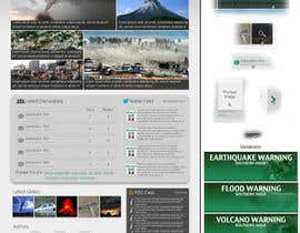 #38 para Website Design for Disaster.Com por SmithWebDesign