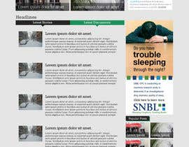 nº 36 pour Website Design for Disaster.Com par nelsonc99