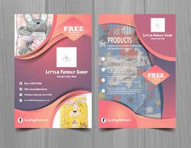 #10 for leaflet design - online retail baby clothes by n000m444n