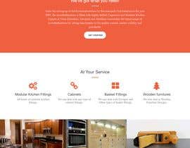 #7 for Website for a Modular Kitchen Design Company by jarwalshubham