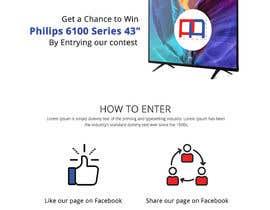 Nro 6 kilpailuun Design a landing page for our competition käyttäjältä creative423