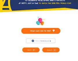 Nro 21 kilpailuun Design a landing page for our competition käyttäjältä robertoanguloto