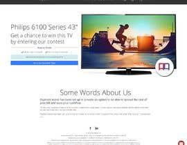 Nro 4 kilpailuun Design a landing page for our competition käyttäjältä Neddy236