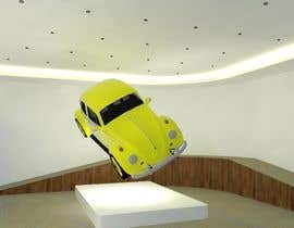 MikhailE tarafından Illustrate an interior with visitors and attractions for a modern VW Beetle museum için no 44