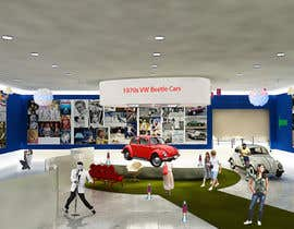 SDBcIndia tarafından Illustrate an interior with visitors and attractions for a modern VW Beetle museum için no 46