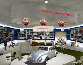 SDBcIndia tarafından Illustrate an interior with visitors and attractions for a modern VW Beetle museum için no 49