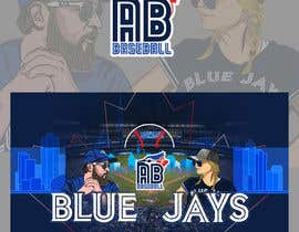 #24 , Blue Jays Baseball Fan Youtube Channel Banner and +Logo 来自 gilart