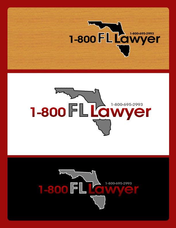 Penyertaan Peraduan #                                        195                                      untuk                                         Logo Design for 1-800FLLawyer