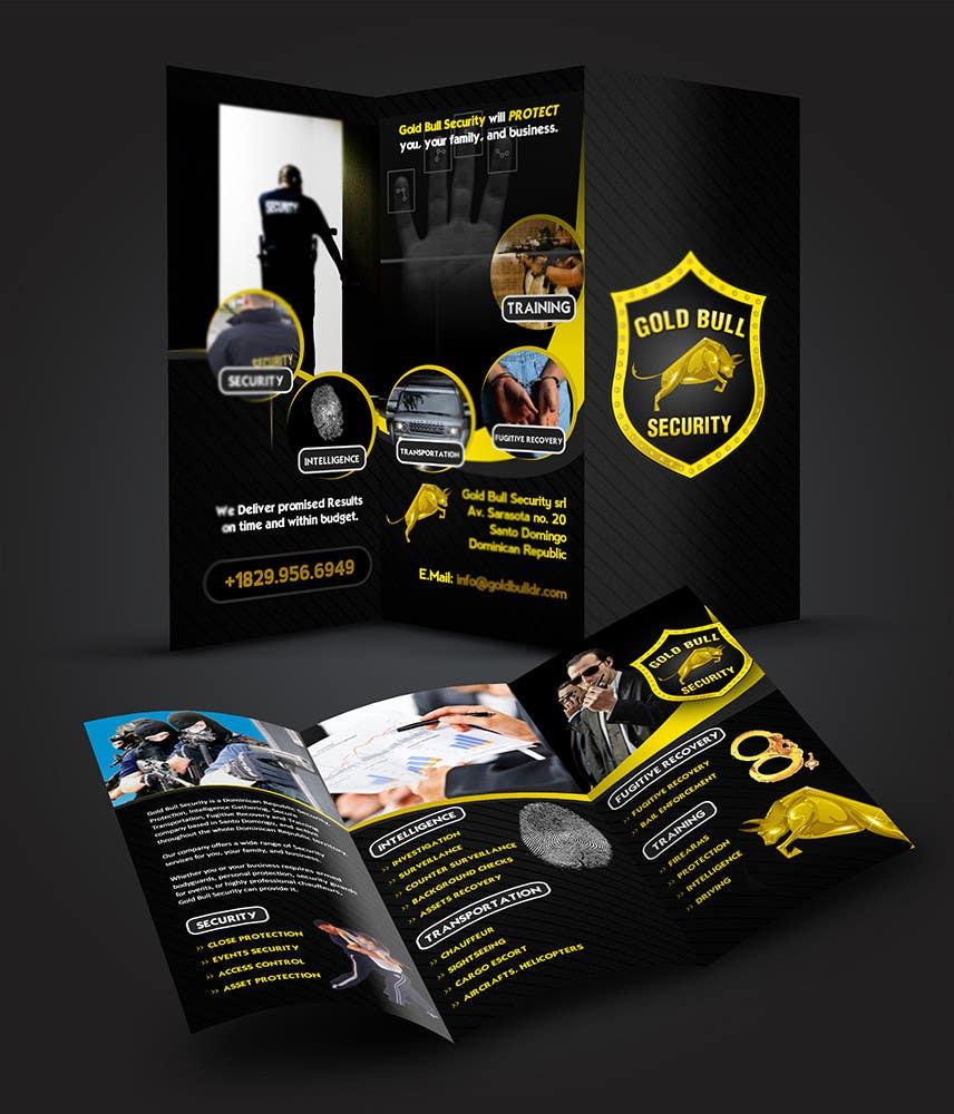 Penyertaan Peraduan #                                        14                                      untuk                                         Flyer Design for security and transportation company