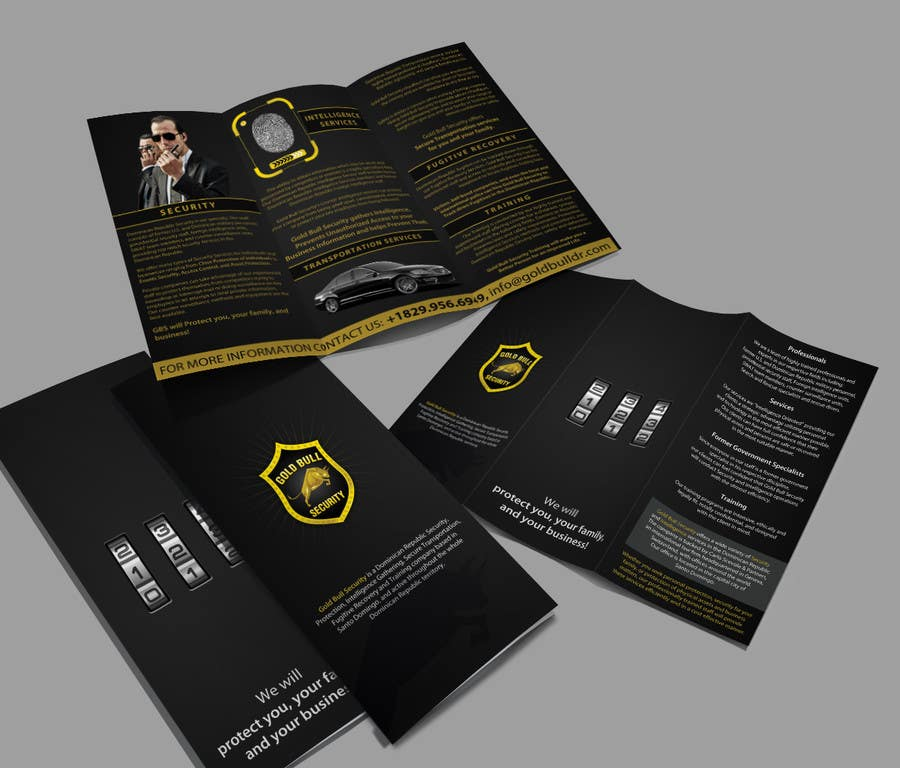 Penyertaan Peraduan #                                        29                                      untuk                                         Flyer Design for security and transportation company