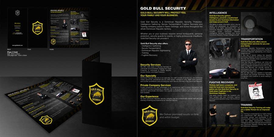 Penyertaan Peraduan #                                        35                                      untuk                                         Flyer Design for security and transportation company