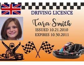 #4 para Children's Drivers licence por Guitaadrian