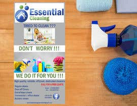 #37 for DL size flyer for home cleaning business by jazg91