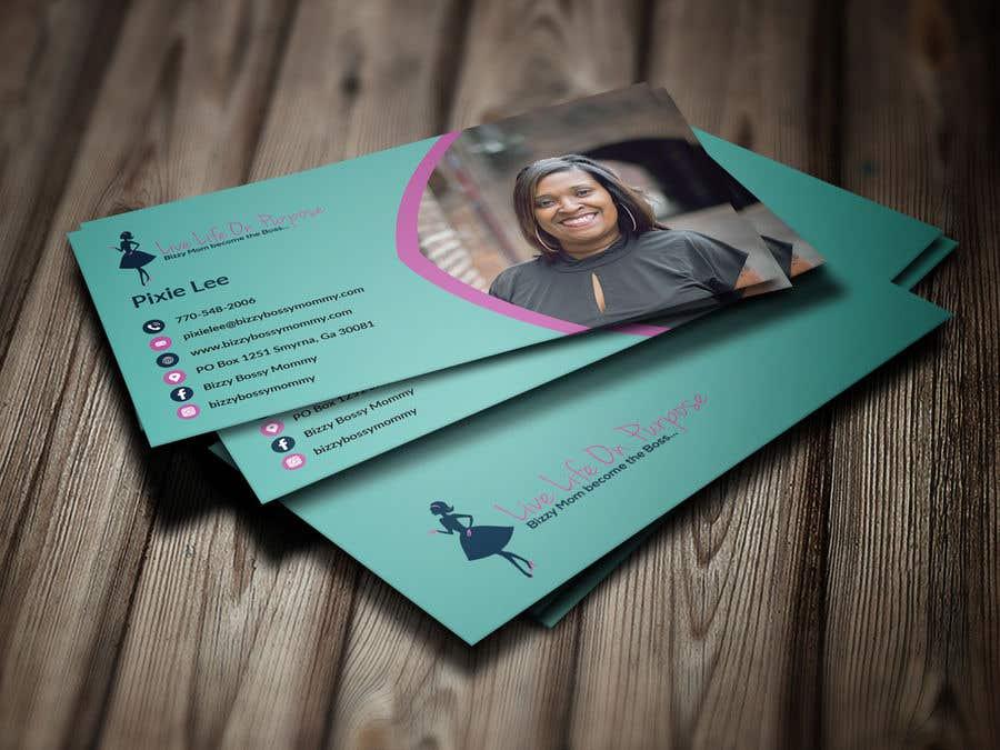 contest entry 170 for design custom author business cards - Author Business Cards