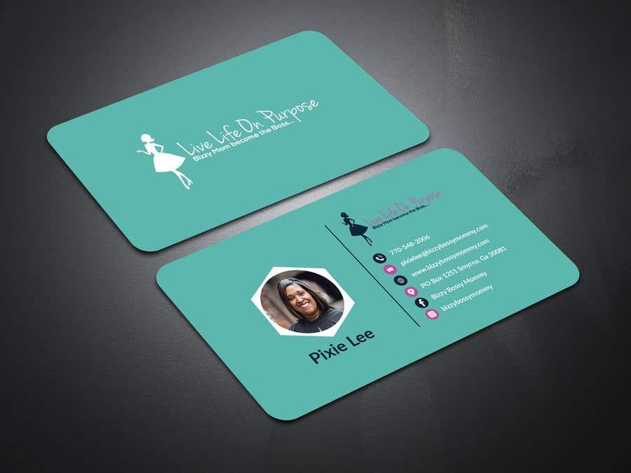 contest entry 173 for design custom author business cards - Author Business Cards