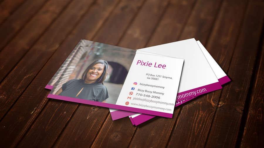 contest entry 120 for design custom author business cards - Author Business Cards