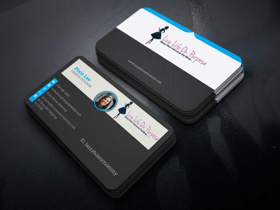 contest entry 168 for design custom author business cards - Author Business Cards