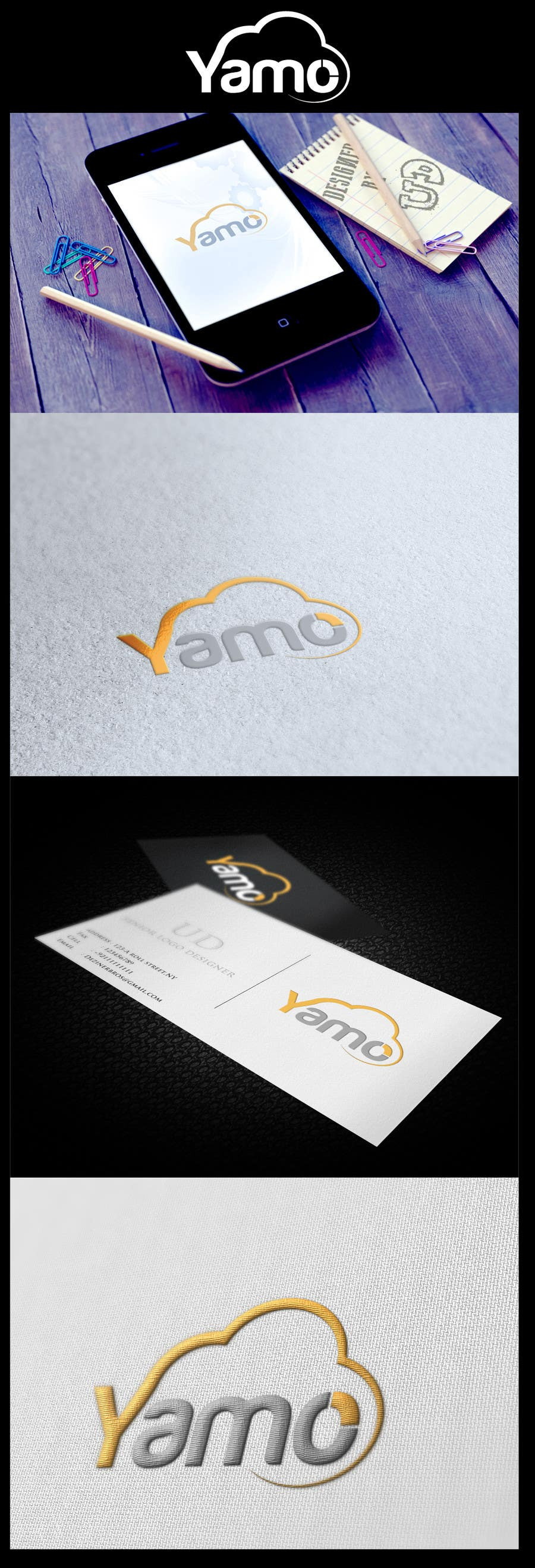 #37 for Logo Design for Yamo by finestthoughts