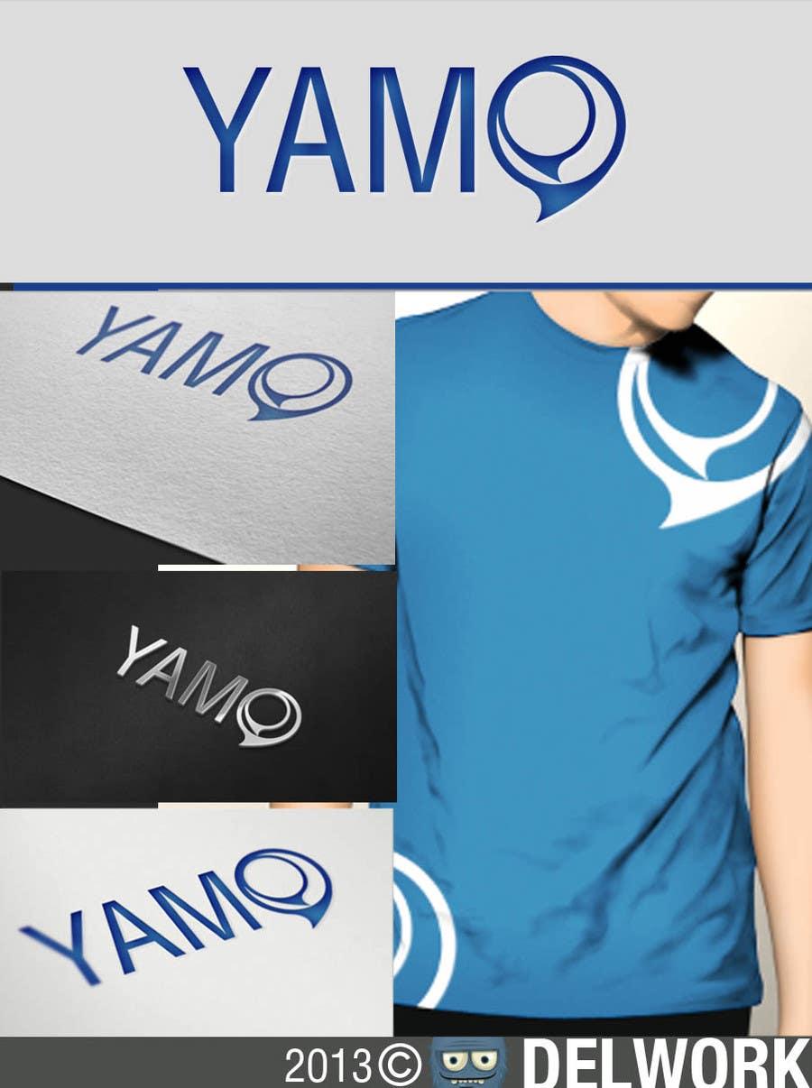 Kilpailutyö #740 kilpailussa Logo Design for Yamo