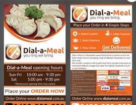#14 para Dial a meal Flyers por ReallyCreative