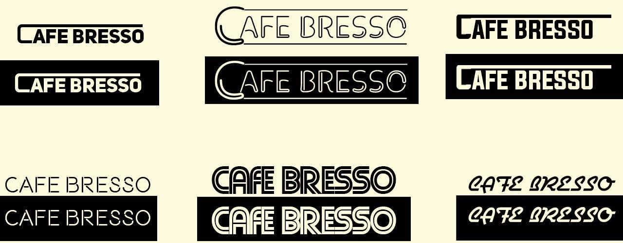 Konkurrenceindlæg #85 for Logo Design for a Cafe