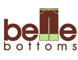 #272 dla Logo Design for belle bottoms iron-on pant cuffs przez janinie