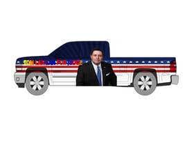 Nro 14 kilpailuun Partial patriotic truck Wrap käyttäjältä ingleo2016