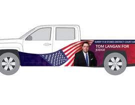 Nro 5 kilpailuun Partial patriotic truck Wrap käyttäjältä eling88